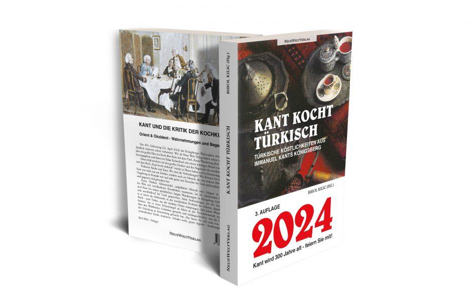Neues Buch: Kant kocht türkisch