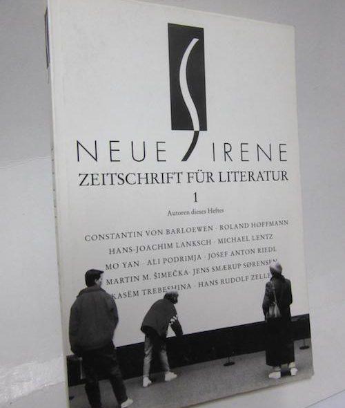 Sirene. Zeitschrift für Literatur – Sonderband Band 1/1992
